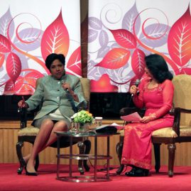 Indra Nooyi on Business Leadership