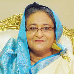 Sheikh Hasina Wajed, Prime Minister of Bangladesh