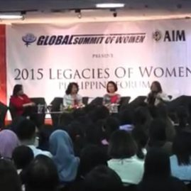 Legacies of Women: Manila Q&A