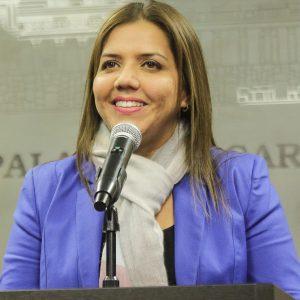 María Alejandra Vicuña Muñoz, Vice President of Ecuador