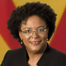 Mia Mottley, Prime Minister of Barbados
